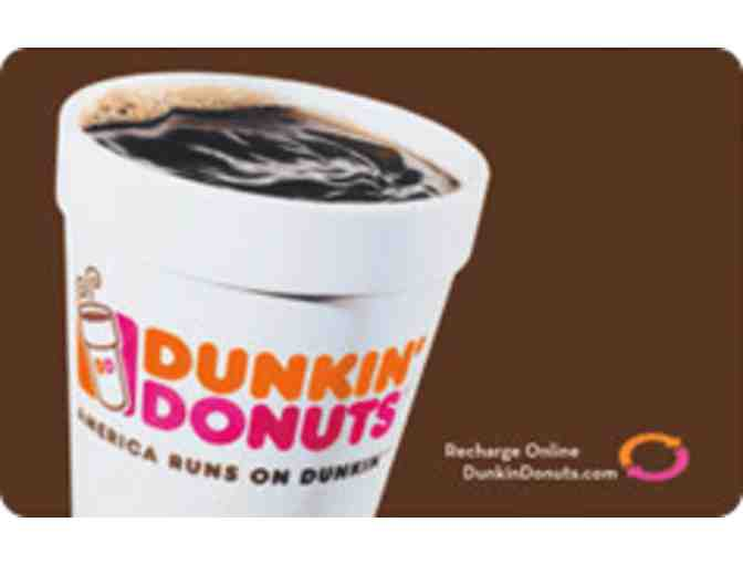 $5 Dunkin Donuts Gift Card - Photo 1