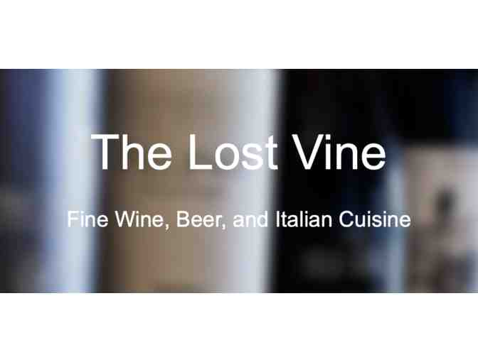 The Lost Vine - Three course Chef Driven Dinner for 4!