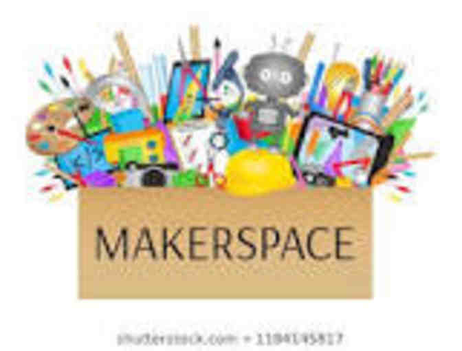 Makerspace and Snacks with Ms. Anderson