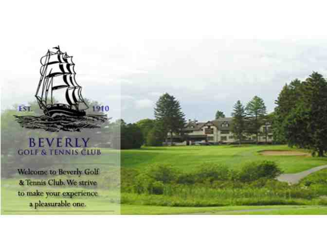 Foursome for 18 holes at Beverly Golf & Tennis Club