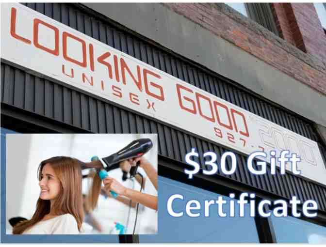 Hair Salon - Looking Good 2000 - $30 Gift Certificate