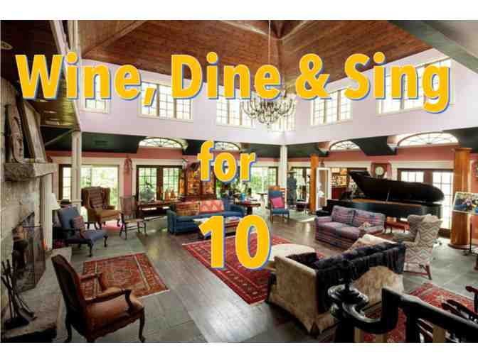 Wine, Dine & Sing with John Archer - for 10