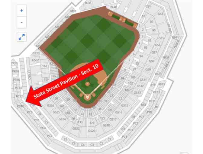 Red Sox - State Street Pavilion - 2 Tickets