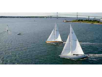 2 tickets for a 3 hour America's Cup 12 Meter Racing Experience in Newport, RI.