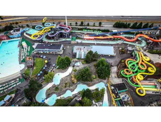 Wild Waves Theme & Water Park- 2 General Admission Tickets
