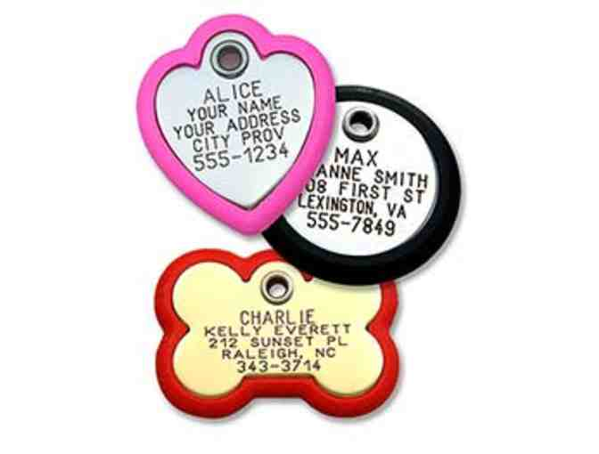 LuckyPet Personalized ID Tag and Collar- $25 Gift Certificate