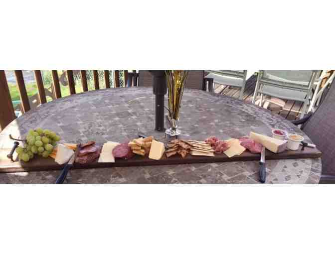 Handcrafted Charcuterie Serving Board