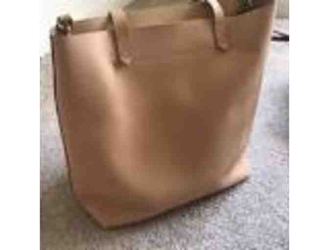 Natural Leather Madewell Tote