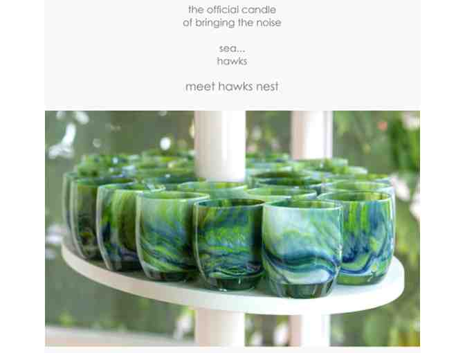 Welcome to the 'Hawks Nest' Glassybaby