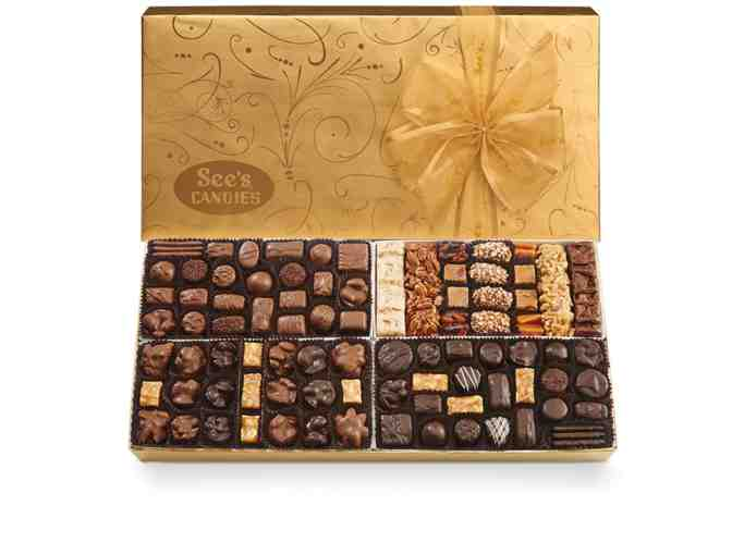 4-pound Gift of Elegance Box of See's Chocolates
