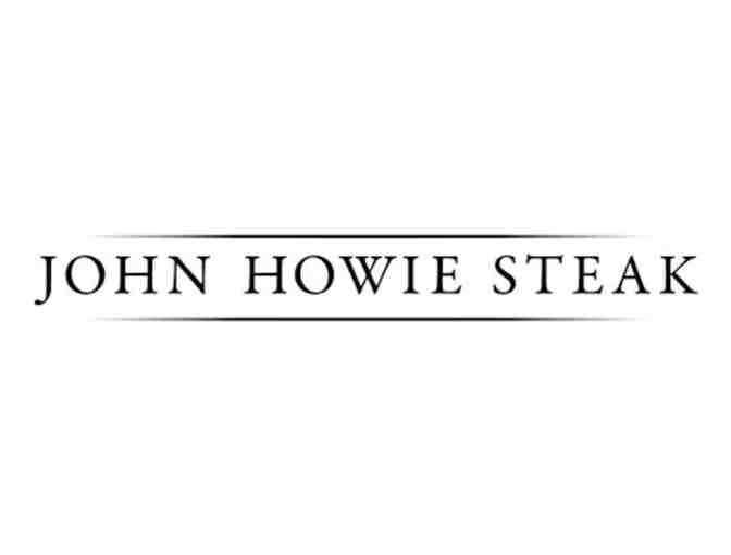 $100 Worth of John Howie Restaurant Gift Certificates