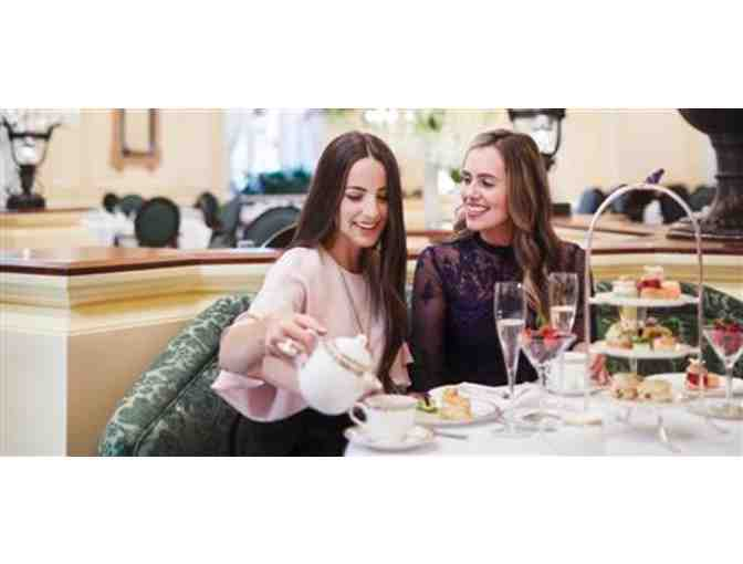 Afternoon Tea at Fairmont Olympic Hotel