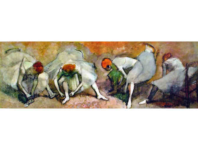 Large Framed Edgar Degas Print
