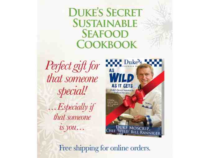 Duke's Cookbook and $25 Gift Card and Discount Cards