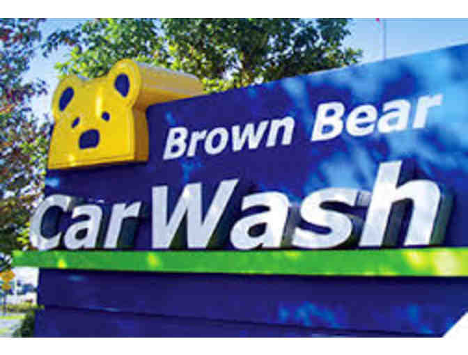 Brown Bear 'Paw Packs'- 4 Car Washes