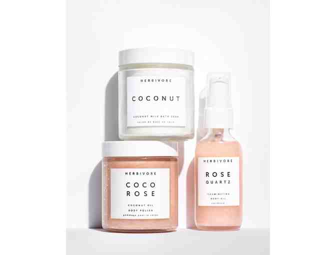 Herbivore SELF LOVE Bath & Body Ritual Set