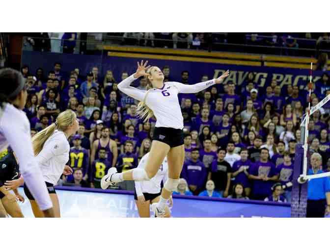 *2nd Offering!! UW Women's Volleyball - 2019 Season- Two 1st Row Seats!