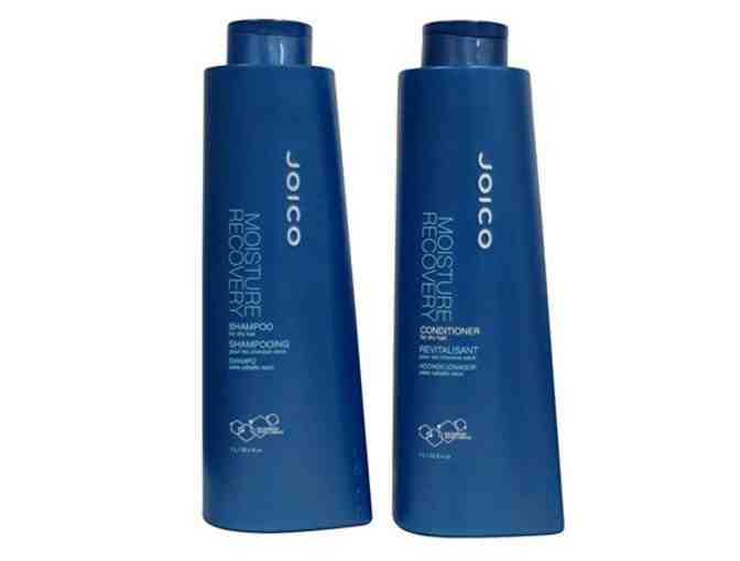 Joico Moisture Recovery Shampoo and Conditioner- Liter Duo Set