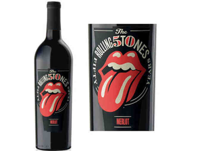 Wines That Rock! Rolling Stones Forty Licks 2012 Merlot