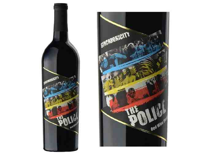 Wines That Rock! Synchronicity -The Police, Red Wine Blend 2012