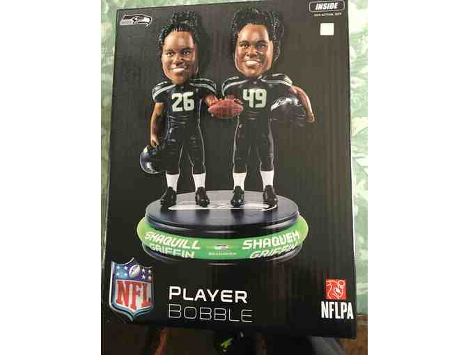 Team Players Seahawks Shaquill Griffin and Shaquem Griffin Bobblehead