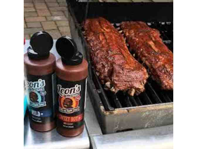 Leon's Small Batch BBQ Sauces- A Basket of BBQ Essentials!