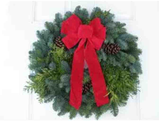 Holiday Evergreen Wreath
