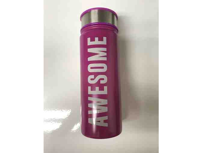 Aladdin Hot Pink 'Awesome' Insulated Water Bottle