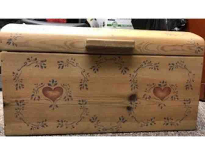 Adorable Handpainted Dome Trunk