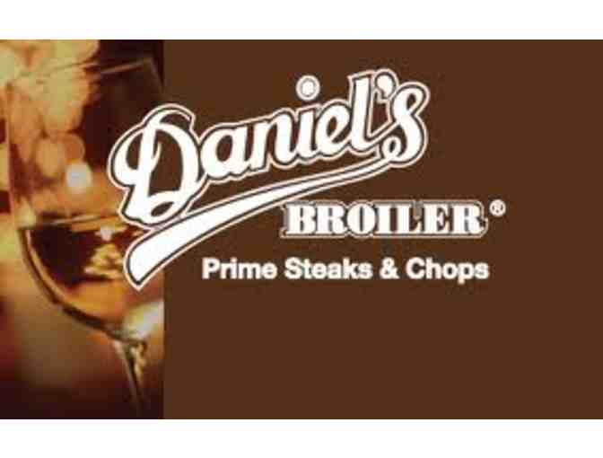 Daniel's Broiler Restaurant Gift Cards - $100 - Photo 4