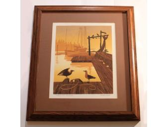 Marine View Lithographs from Walton Butts
