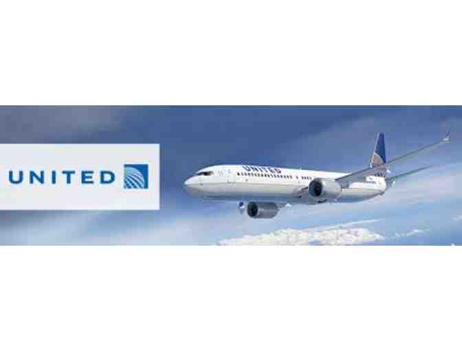 (2) United Airline Tickets - Photo 1
