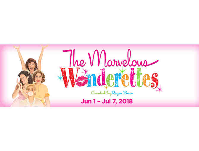 "2 Theater Tickets - ""The Marvelous Wonderette's - Photo 1"