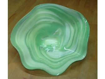 G. Brian Juk Art Glass Bowl