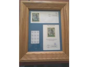 Mary Breckinridge Stamp Collection Display