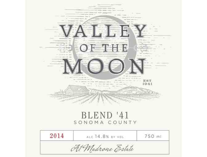 Case of Valley of the Moon 2014 Blend '41 Red - Photo 2