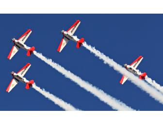 Fly with the AeroShell Aerobatic Team at AirVenture on Wednesday, July 25, 2012