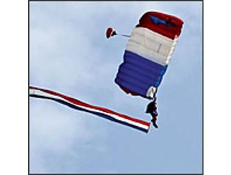 Tandem Parachute Experience for 2 - Your jump will launch 2012 AirVenture Oshkosh