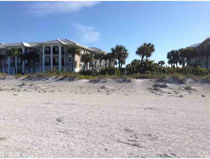 7 nights on the Gulf of Mexico in Belleair Beach, Florida