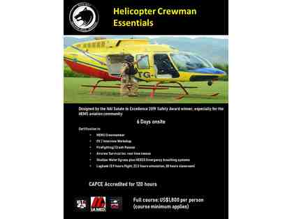 HEMS Helicopter Aircrew Essentials Course in Guatemala