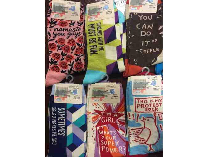 His & Hers Collection of BlueQ Socks