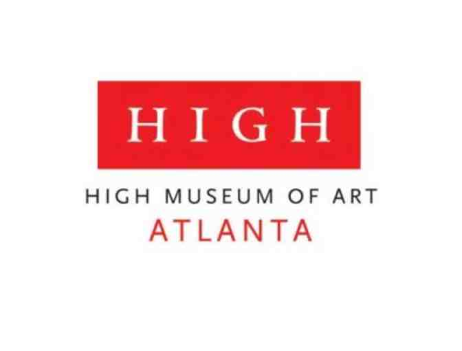 (2) Admission Passes-High Museum of Art