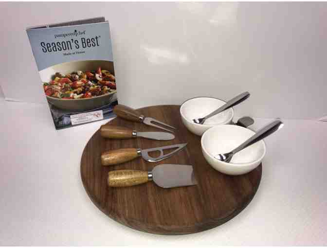 Pampered Chef Lazy Susan & Charcuterie Accessories