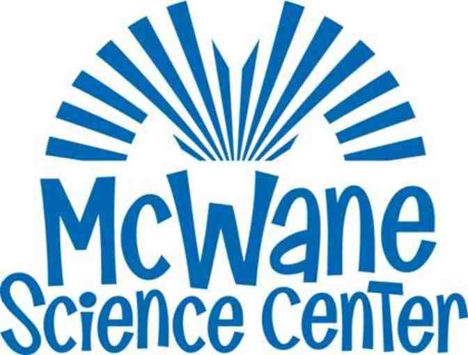 (4) General Admission Tickets to the McWane Science Center
