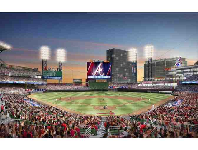 (4) 2020 Atlanta Braves Regular Season Baseball Tickets with Parking