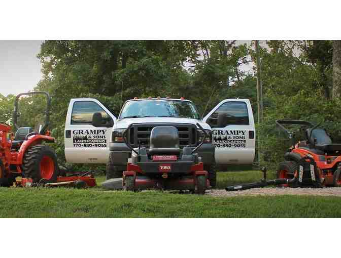 $50 Gift Card Toward Lawn Care Services By Grampy & Sons Landscaping