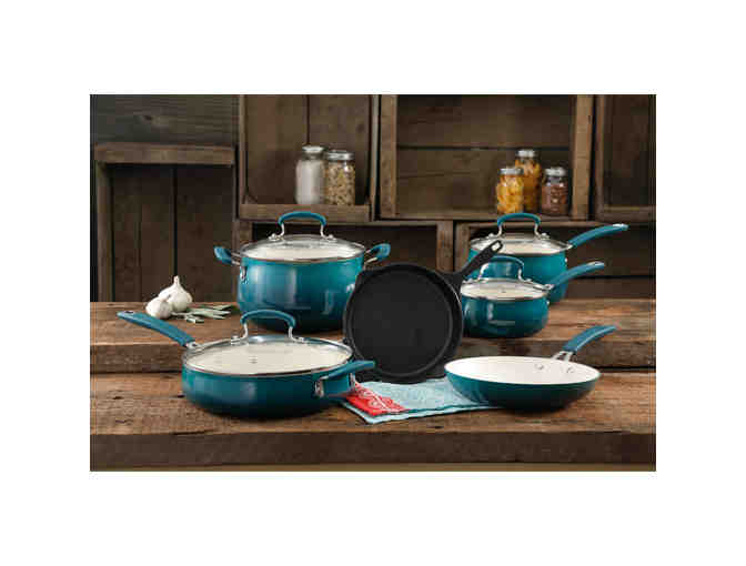 Pioneer Woman 10-piece Cookware Set