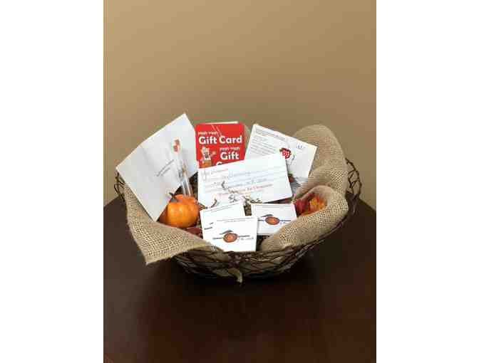 Gift Cards Galore Basket