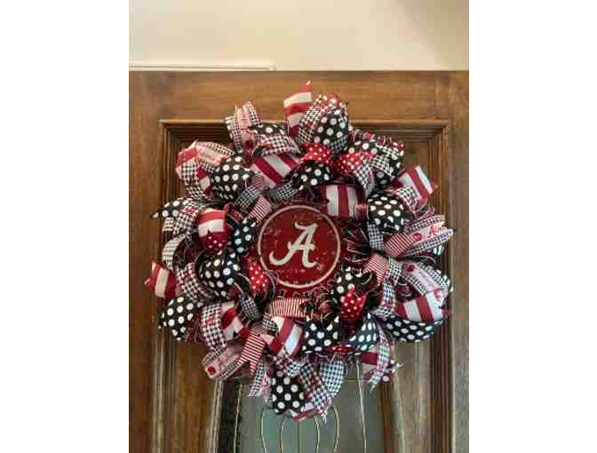 Alabama Crisom Tide Wreath
