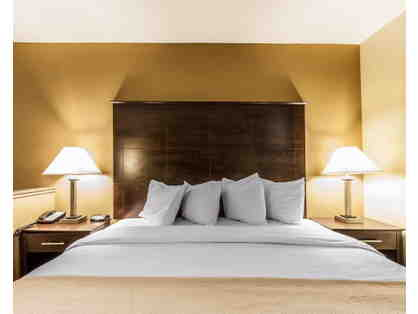One night stay in King Size  Room or Suite at Quality Inn & Suites of Bremen